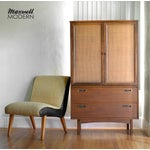 Image of Mid-Century Modern Armoire Dresser