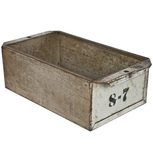 Industrial Steel Storage Drawer Bin - Image 1 of 3