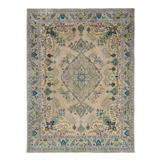 "Hand Painted Color Reform Collection Rosaline Wool Rug - 9'7"" x 12'9"""