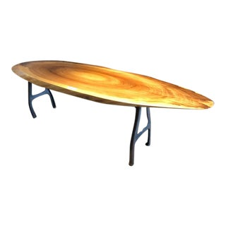 Poplar Surfboard Style Coffee Table