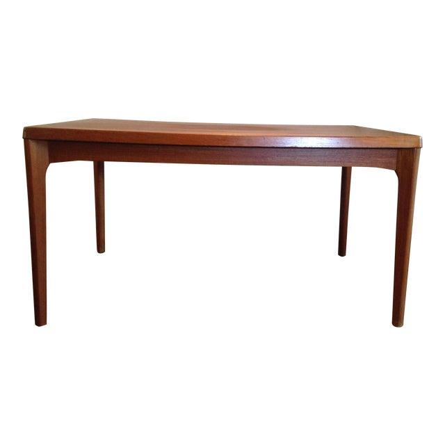 Teak Extendable Coffee Table: Vejle Stole Mobelfabrik Teak Extendable Dining Table