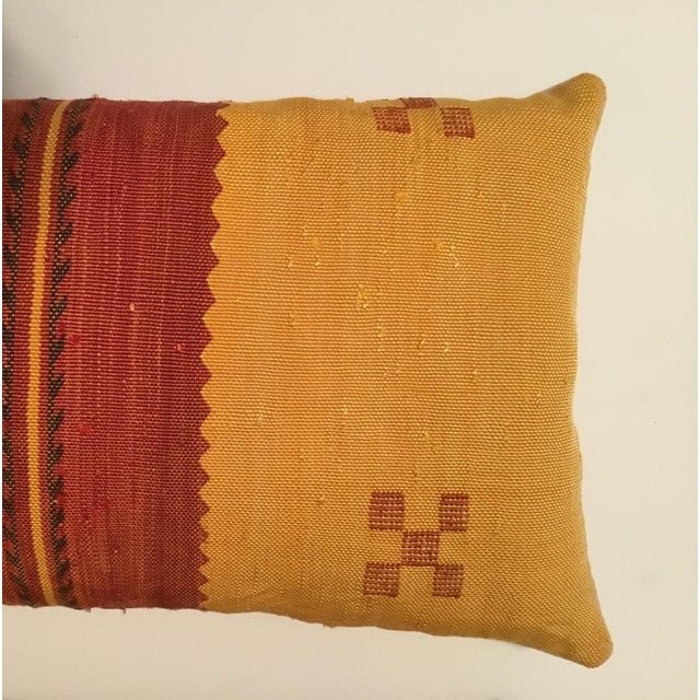 Moroccan Cactus Silk Pillow - A Pair - Image 5 of 11