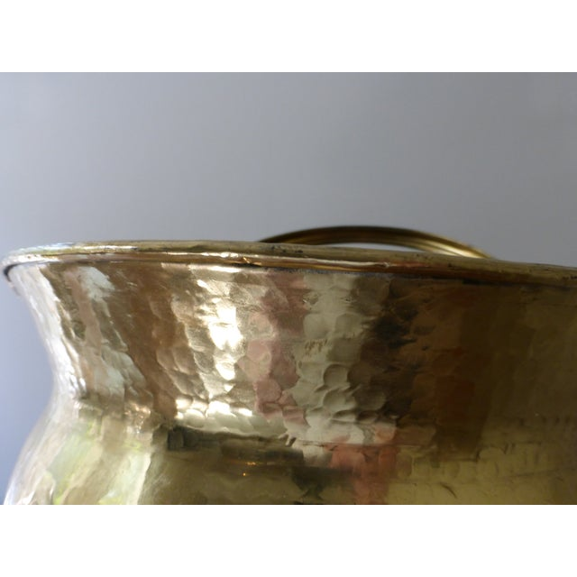 French Antique Brass Coal Hod - Image 7 of 8