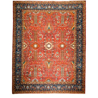 "New Traditional Hand-Knotted Rug - 9'3"" X 11'9"""