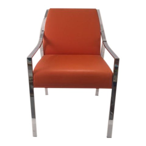 Holly Hunt Aileron Dining Arm Chair - Image 1 of 9