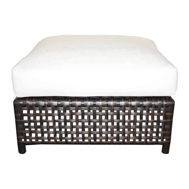 McGuire Antalya Outdoor Ottoman - Image 1 of 3