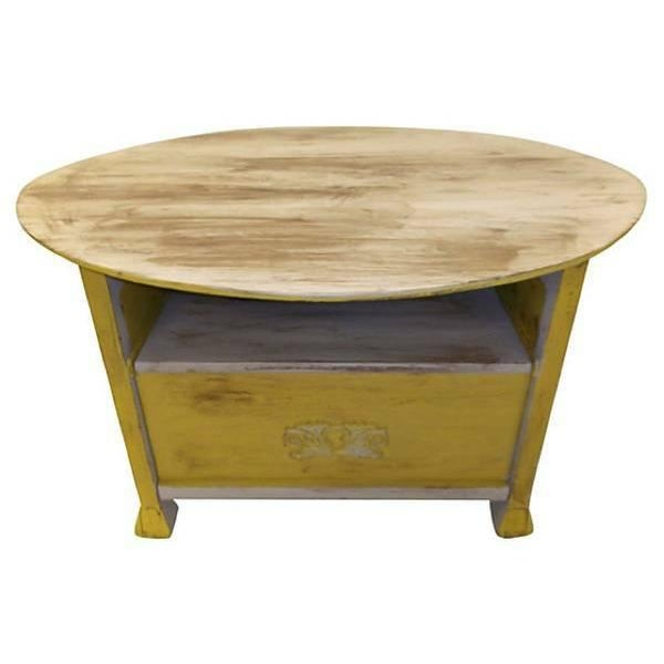 Image of Early American Table Bench Chest