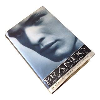 Inscribed Marlon Brando Biography Hardback Book