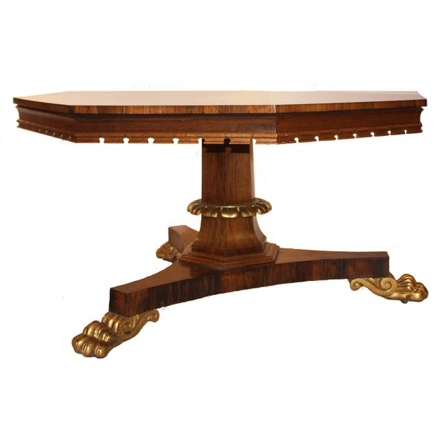 English Regency Period Tilt-top Center Table - Image 4 of 7