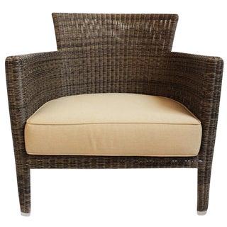 Woven Fiber Lounge Chair