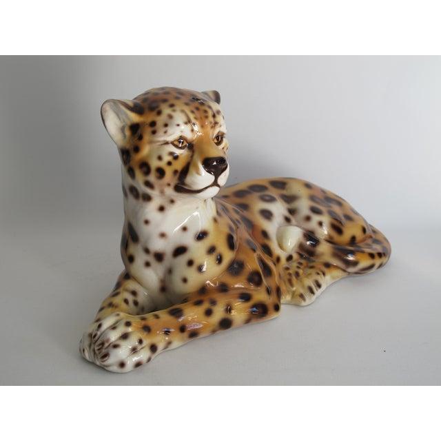 Capodimonte Ceramic Jaguar - Image 9 of 11