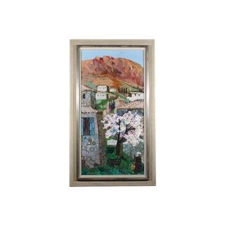 "Bertil Wahlberg ""Sorrento"" Oil Painting"