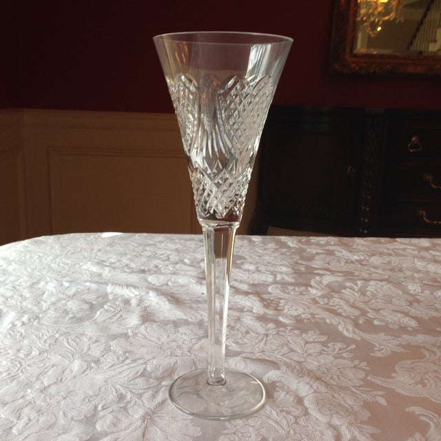 Waterford Crystal Champagne Flutes - Set of 4 - Image 4 of 5