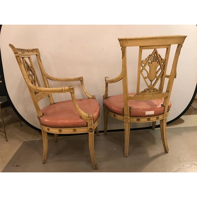 Maison Jansen Arm Chairs - a Pair - Image 4 of 11
