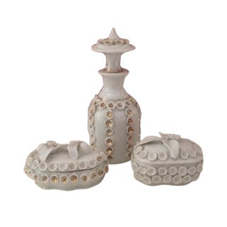 Old Paris Vanity 3 Piece Set