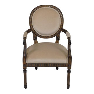 Country French Mohair Armchair