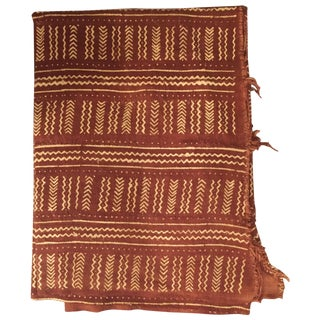 Terra Cotta African Mud Cloth