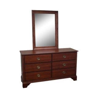 Eddie Bauer for Lane Traditional Double Dresser W/ Mirror
