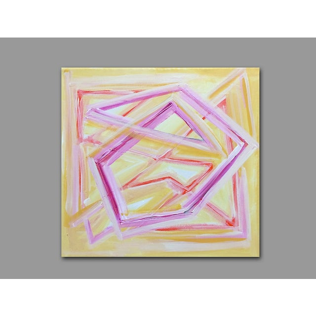'TROPiCANA' Original Abstract Painting - Image 6 of 7
