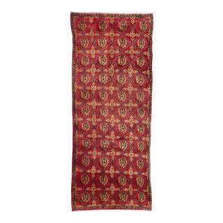 "Apadana - Vintage Persian Rug, 3' x 9'5"""