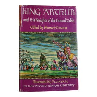 "1950s ""King Arthur and His Knights of the Round Table"" Vintage Book"