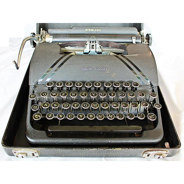 Smith-Corona Sterling Typewriter - Image 4 of 10