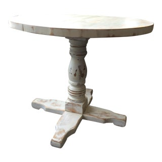 Shabby Chic Style White Dinette Table