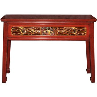Red Fujian Altar Table