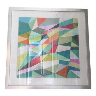 """Framed """"Pattern Parade 9"""" Print"""