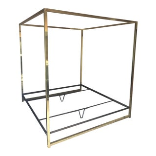 Henredon Brass King Canopy Bed