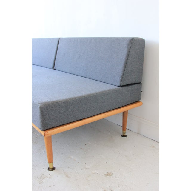 Mid-Century Modern Daybed in Granite Gray - Image 4 of 8