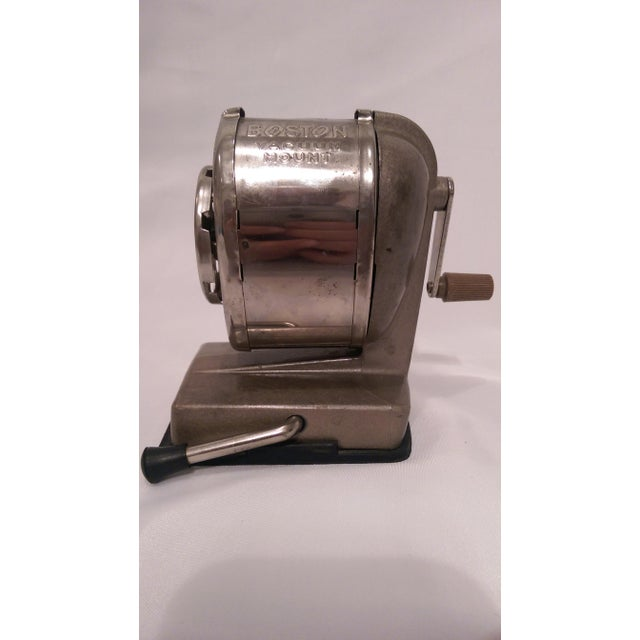 Vintage Boston Vacuum Mount Pencil Sharpener - Image 10 of 10