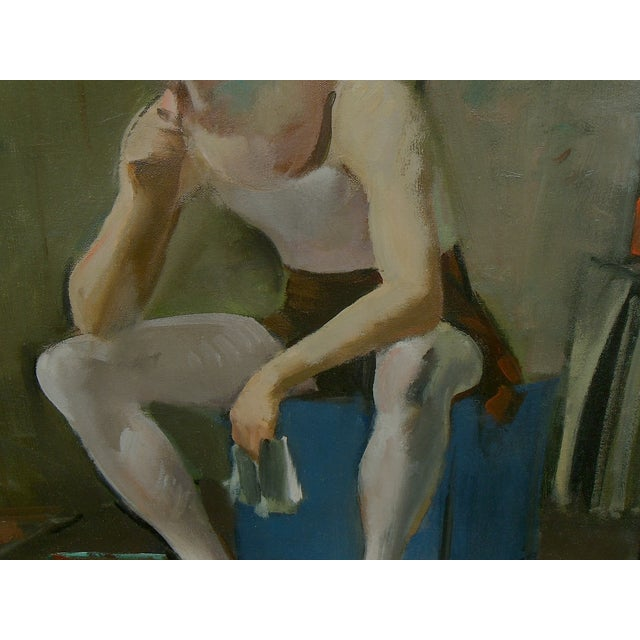 Virginia Goldberg Ballet Dancer Painting - Image 5 of 5
