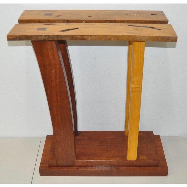 Dia Ates Hardwood Pedestal - Image 2 of 8