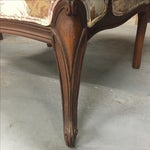 Image of Large Peonies Upholstered Chairs - A Pair