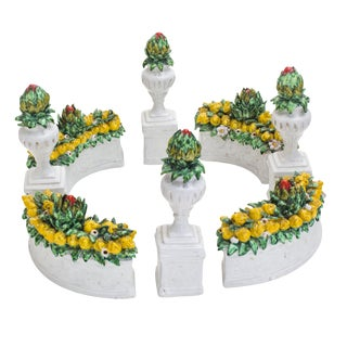 Ornamental Tuscan Garden Centerpiece