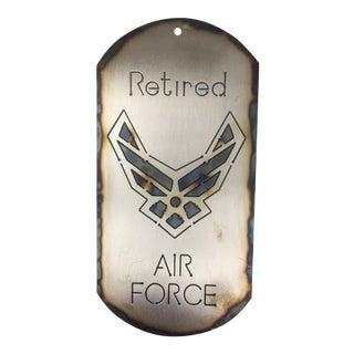 United States Air Force (Usaf) Dog Tag