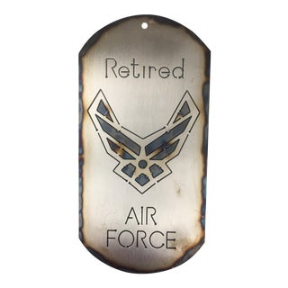 United States Air Force (Usaf) Dog Tag