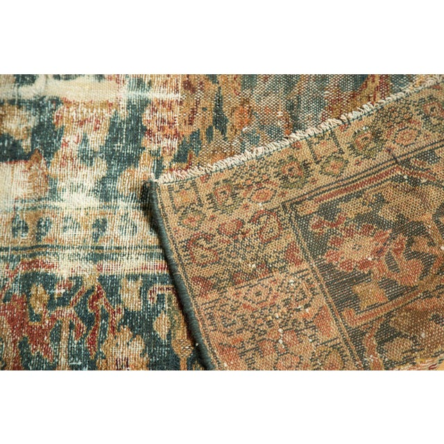 "Distressed Hamadan Carpet - 5'3"" x 7'11"" - Image 10 of 10"