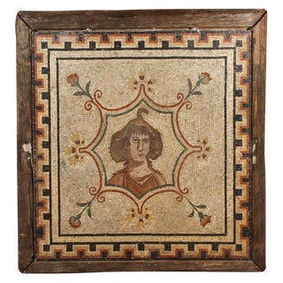 Large, 18th Century, Roman Mosaic Panel