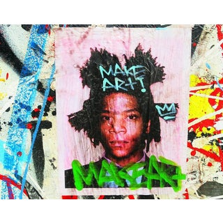 Contemporary Basquiat New York Street Art Photo