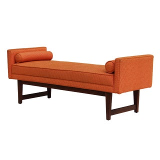 Selig Mid Century Tufted Bench