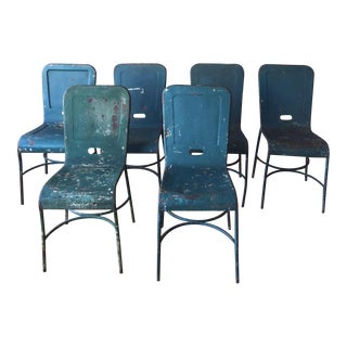 Vintage Italian Dining Chairs - Set of Six