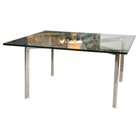 Barcelona Table by Mies van der Rohe for Knoll - Image 1 of 8