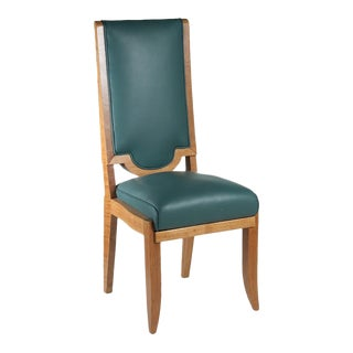 Maurice Jallot Set of Eight Dining Chairs