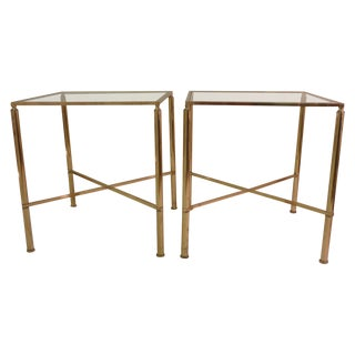 Bagues Style End Tables - Pair