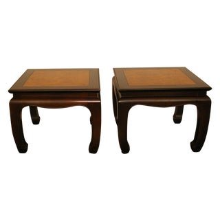 Chinese Style Bunching Tables - A Pair