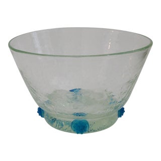 Blenko Glass Console Bowl