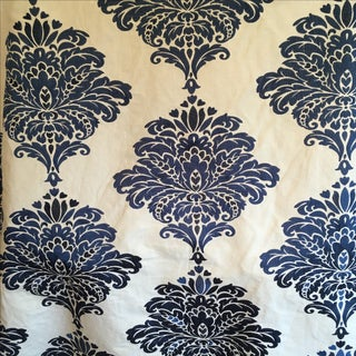 Thibaut Arturo Damask Embroidery Fabric - 2 Yards