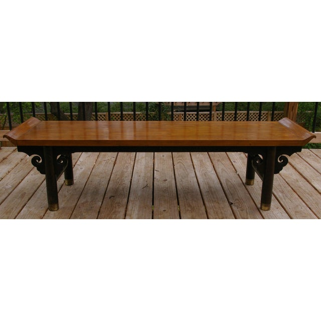 Baker Furniture Midcentury Japanese Low Table - Image 2 of 6